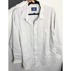 Stafford button down 17 1/2 dress shirt